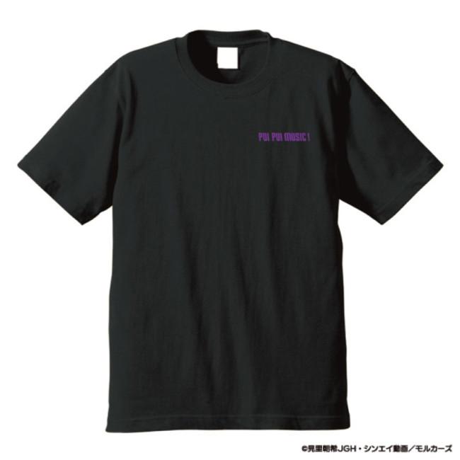 DJモルカー Tシャツ ブラック(表)