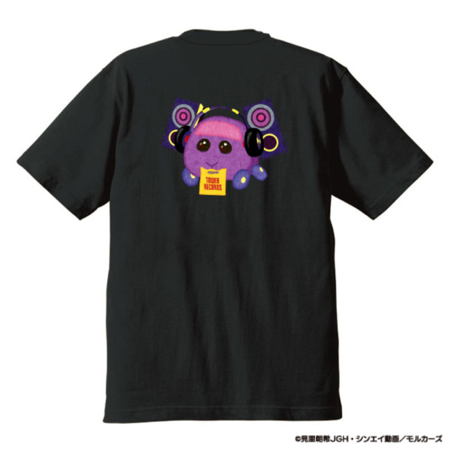 DJモルカー Tシャツ ブラック(裏)