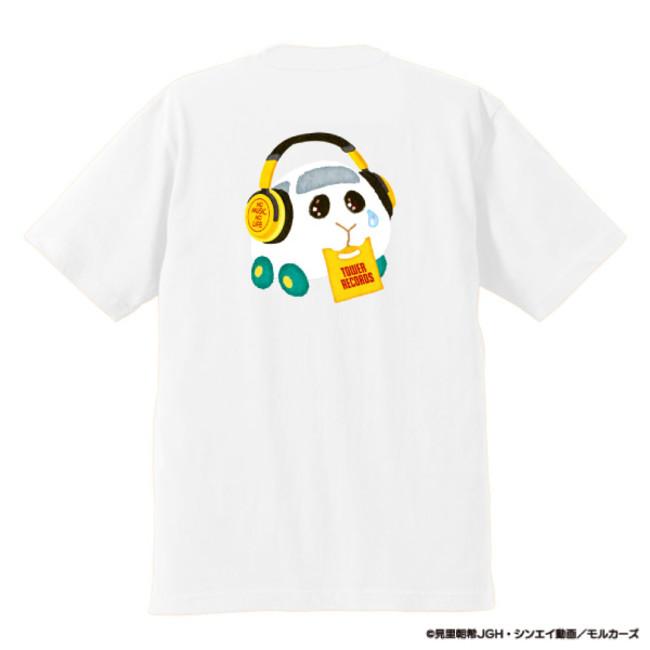 シロモ Tシャツ ホワイト(裏)