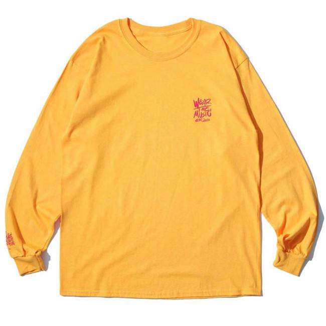 RSC × WTM L/S T-shirt Yellow(FRONT)