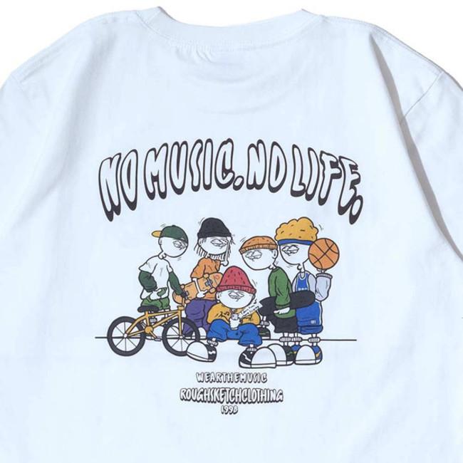 RSC × WTM S/S T-shirt White(BACK PRINT)