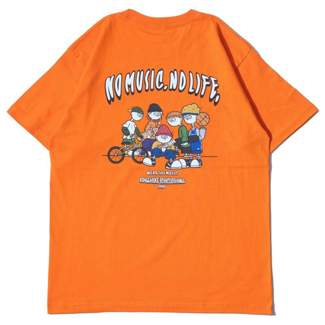 RSC × WTM S/S T-shirt Orange(BACK)