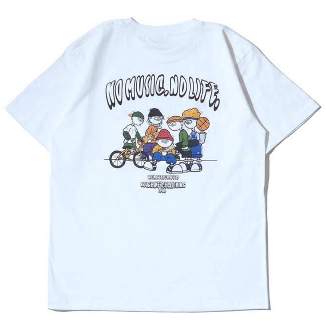 RSC × WTM S/S T-shirt White(BACK)