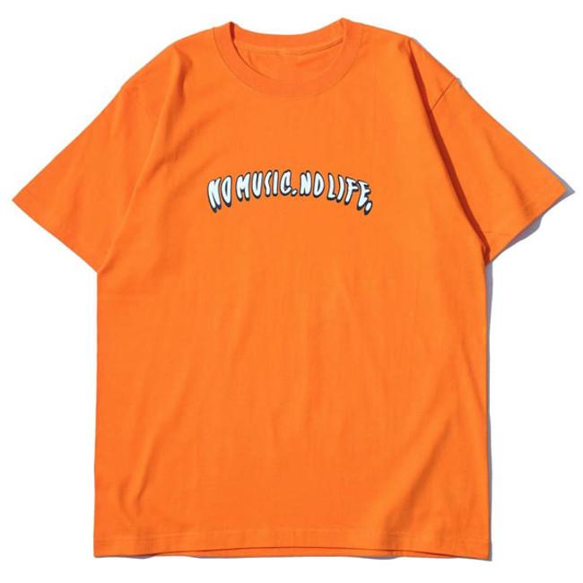 RSC × WTM S/S T-shirt Orange(FRONT)