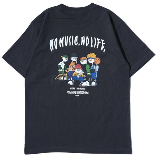 RSC × WTM S/S T-shirt Sumi(BACK)