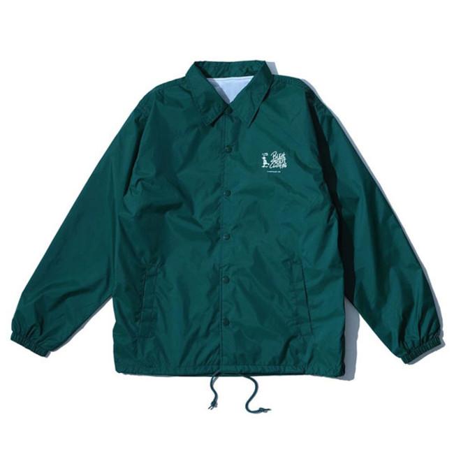 RSC × WTM Nylon Coach Jacket Green(FRONT)