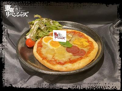 東京卍曾 5種のピザ