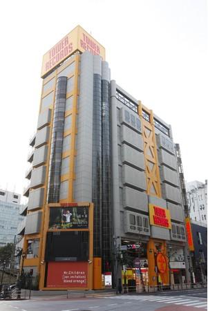 タワーレコード渋谷店 外観
