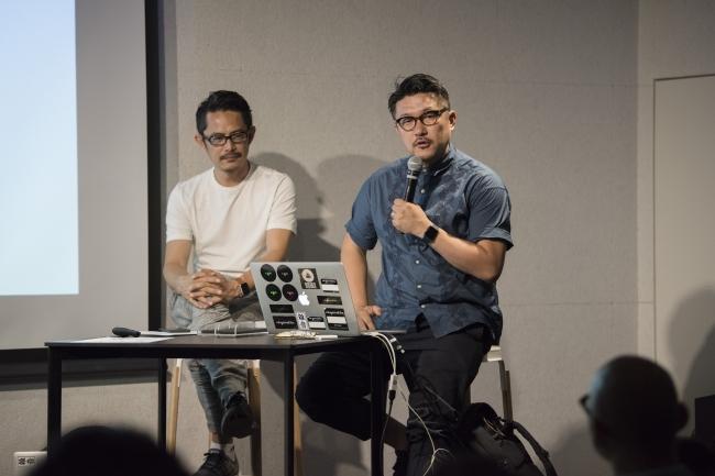 昨年開催時:齋藤精一氏(ライゾマティクス)と豊田啓介氏(noiz)
