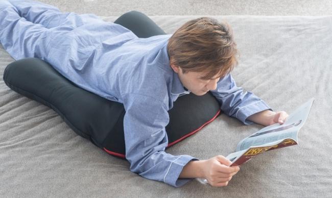 寝ころびながらの読書