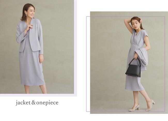 jacket ¥12,000+tax skirt ¥12,000+tax