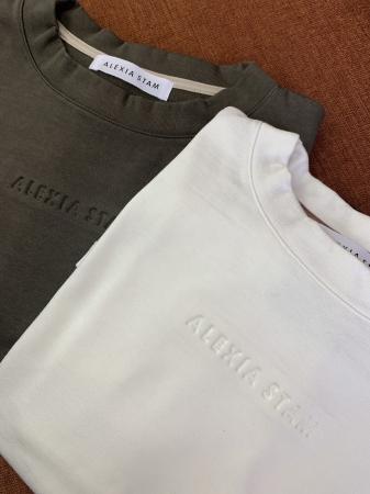限定モデルTシャツ:ホワイト/カーキ  フリーサイズ  ¥7,800(+tax)