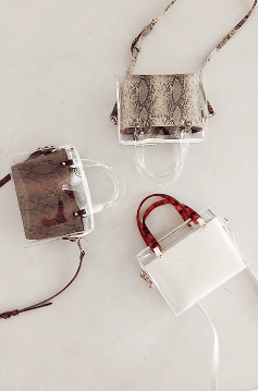 PVC Mini Shoulder Bag(3色展開)¥11,800(+tax)