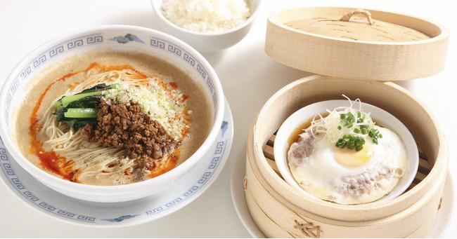 麺+肉餅飯ランチ 1,000円(税抜)