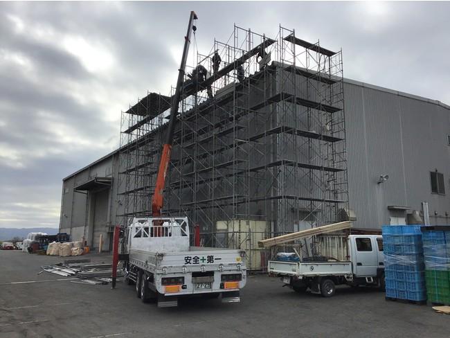 笠岡工場(施工中)