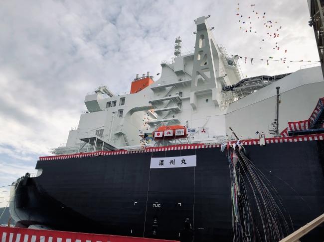 次世代LNG運搬船「濃州丸」