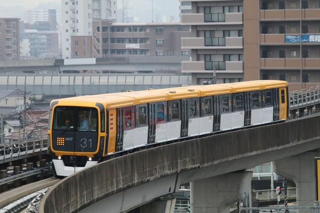 アストラムライン向け7000系新型車両(広島高速交通(株)殿より写真提供)