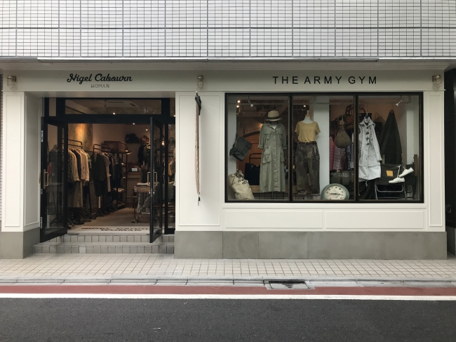 Nigel Cabourn WOMAN THE ARMY GYM Nakameguro Store新店グランドオープンのお知らせ