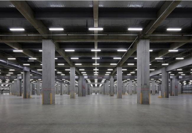 Landport青梅III:梁下有効高7.0mの倉庫内