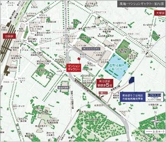 プラウドタワー東池袋 地図
