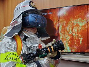 VR訓練のイメージ