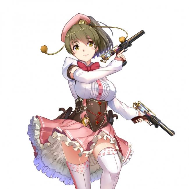 政剣マニフェスティア新武器二丁拳銃のシャーロットゴトウが登場
