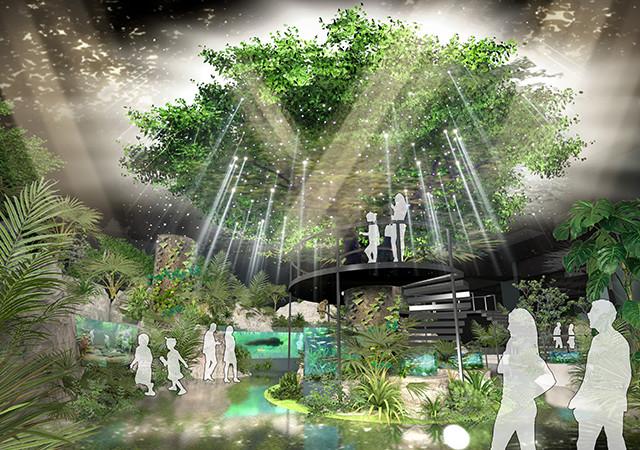 DMMかりゆし水族館の基本設計が完了 内装イメージの一部を公開|合同 ...