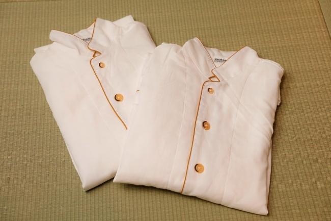 京和晒綿紗のパジャマ