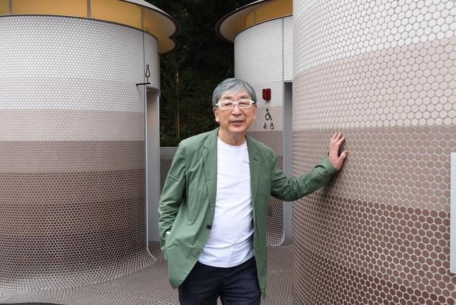 代々木八幡公衆トイレと、クリエイターの伊東豊雄 氏