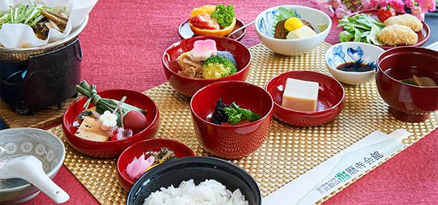 精進料理の夕食 一例(延暦寺会館)