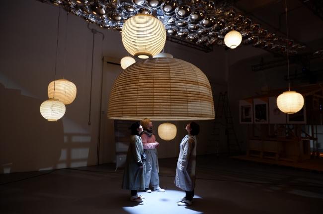 ミラノデザインウイークにも出品された大提灯
