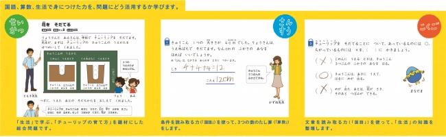 複合教科問題(小1・小2コースおためし問題)