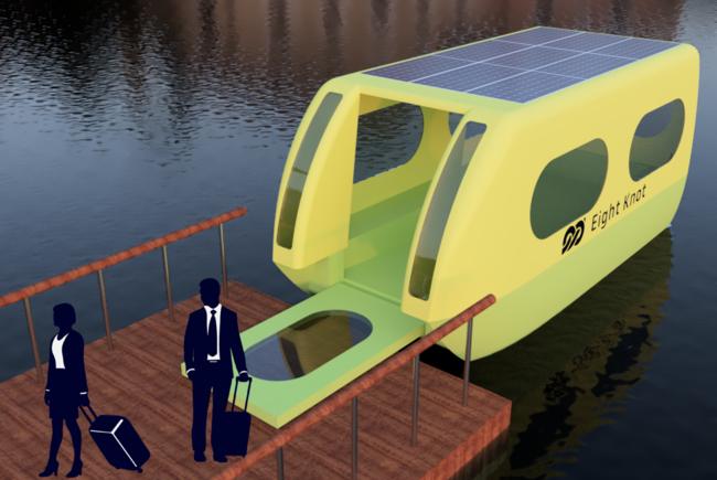 EVロボティックボートのイメージ画像 (画像提供:エイトノット)