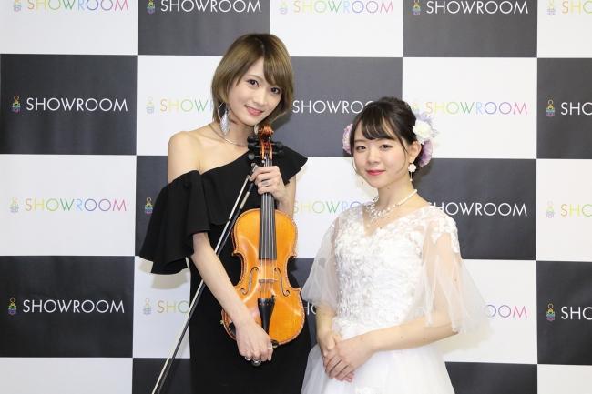 ▲Ayasa(左)、永藤まな(右)