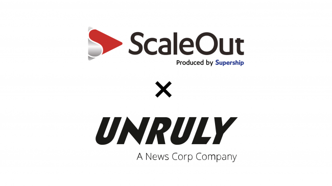 Supershipの「ScaleOut DSP」、動画広告配信プラットフォーム「UnrulyX」とのRTB接続を開始