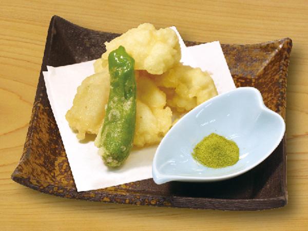 ハモの天ぷら 650円(税別)