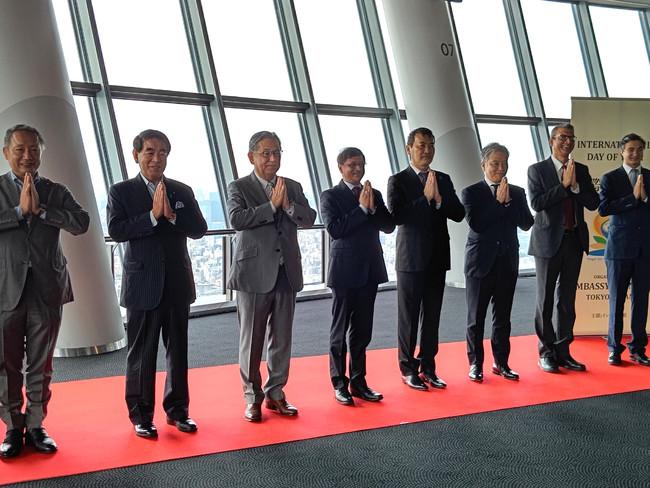 東京スカイツリー(R) 『ヨガの聖地(TM)』 認定イベント