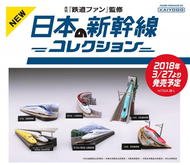 「月刊鉄道ファン監修 日本の新幹線コレクション」イメージ