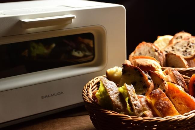 バルミューダがパンを一層おいしく仕上げてくれます