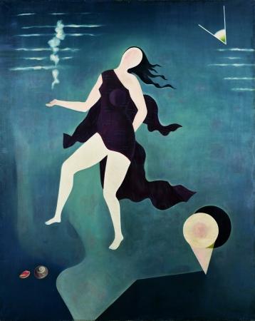古賀春江 《白い貝殻》 1932年(昭和7)ポーラ美術館