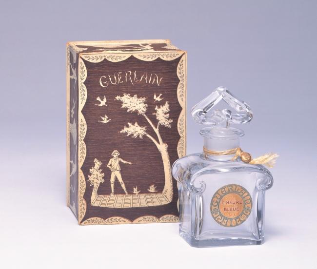 香水瓶「青い時間」1912年 ゲラン