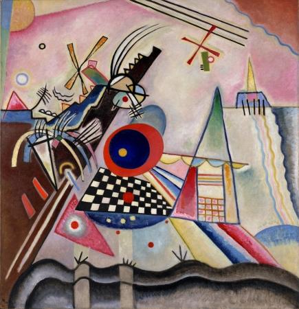 ワシリー・カンディンスキー 《支え無し》 1923年 ポーラ美術館蔵
