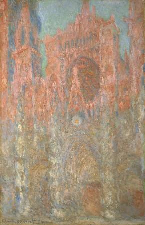 クロード・モネ 《ルーアン大聖堂》1892年 ポーラ美術館