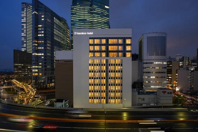 からくさホテルプレミア東京銀座 2019年5月1日開業予定