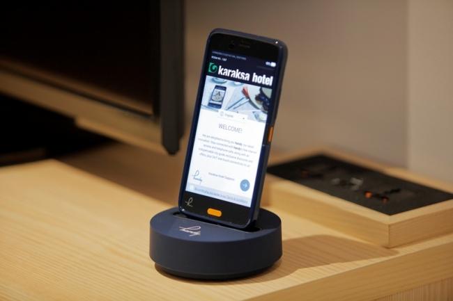 滞在中海外5か国への通話が無料となるスマートフォン
