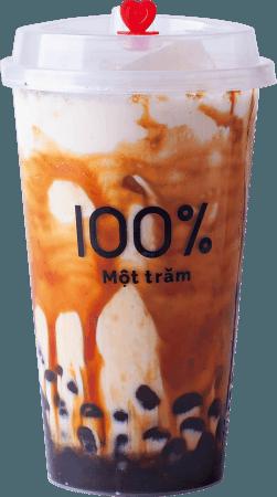 沖縄黒糖ミルク M490円/L590円