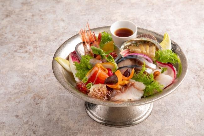 産地直送鮮魚カルパッチョ 1,480円