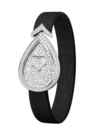 「ジョゼフィーヌ」 コレクション エグレット ウォッチ WG,ダイヤモンドパヴェ