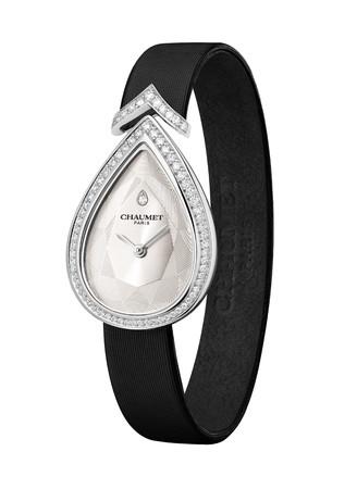 「ジョゼフィーヌ」 コレクション エグレット ウォッチ WG,ダイヤモンド,ホワイトダイアル