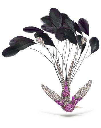 アーカイブより ハチドリのエグレット 1880年制作 @パリ ショーメコレクション